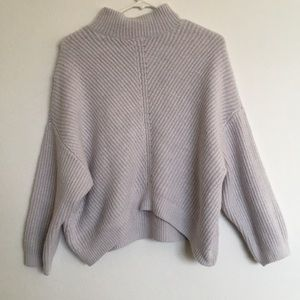 Express turtle neck loose fitting sweater